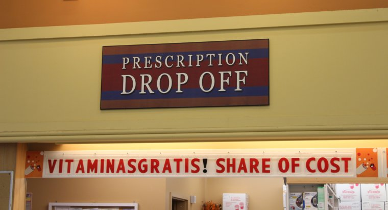prescription drop off