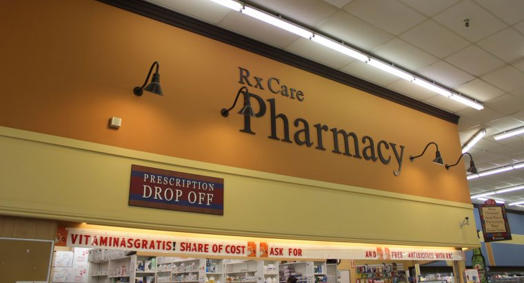 products in the pharmacy